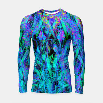 Thumbnail image of Water Drop Dream Reflection (abstract, blue) Longsleeve rashguard , Live Heroes