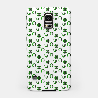 Thumbnail image of St. Patrick's day pattern Samsung Case, Live Heroes