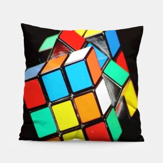 Thumbnail image of Rubix Pillow, Live Heroes