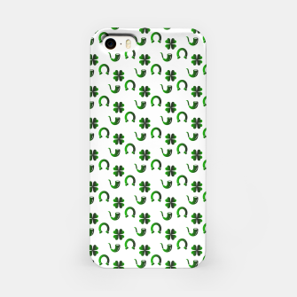 Thumbnail image of St. Patrick's day pattern iPhone Case, Live Heroes