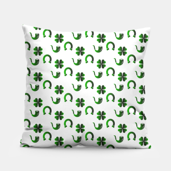 Thumbnail image of St. Patrick's day pattern Pillow, Live Heroes