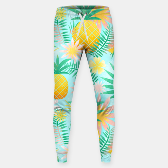 Thumbnail image of Tropical Pineapple Sweatpants, Live Heroes