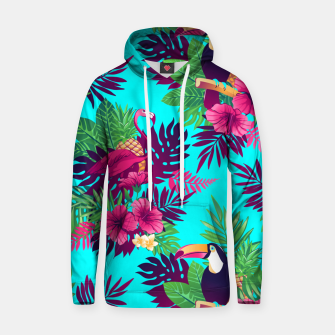 Thumbnail image of Colorful Tropical Hoodie, Live Heroes