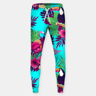Thumbnail image of Colorful Tropical Sweatpants, Live Heroes