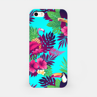 Thumbnail image of Colorful Tropical iPhone Case, Live Heroes