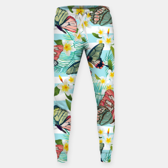 Thumbnail image of Butterflies Pattern Sweatpants, Live Heroes