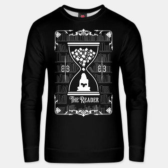 Thumbnail image of The Reader Tarot Card Unisex sweater, Live Heroes