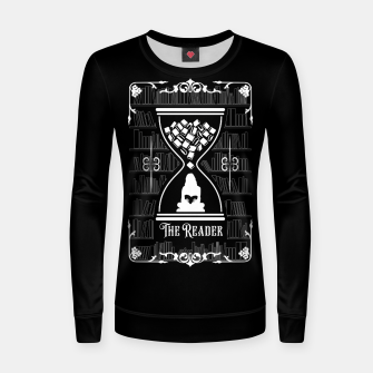 Thumbnail image of The Reader Tarot Card Women sweater, Live Heroes