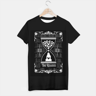 Thumbnail image of The Reader Tarot Card T-shirt regular, Live Heroes