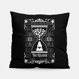 Thumbnail image of The Reader Tarot Card Pillow, Live Heroes