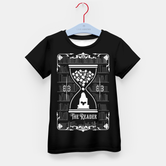 Miniatur The Reader Tarot Card Kid's t-shirt, Live Heroes