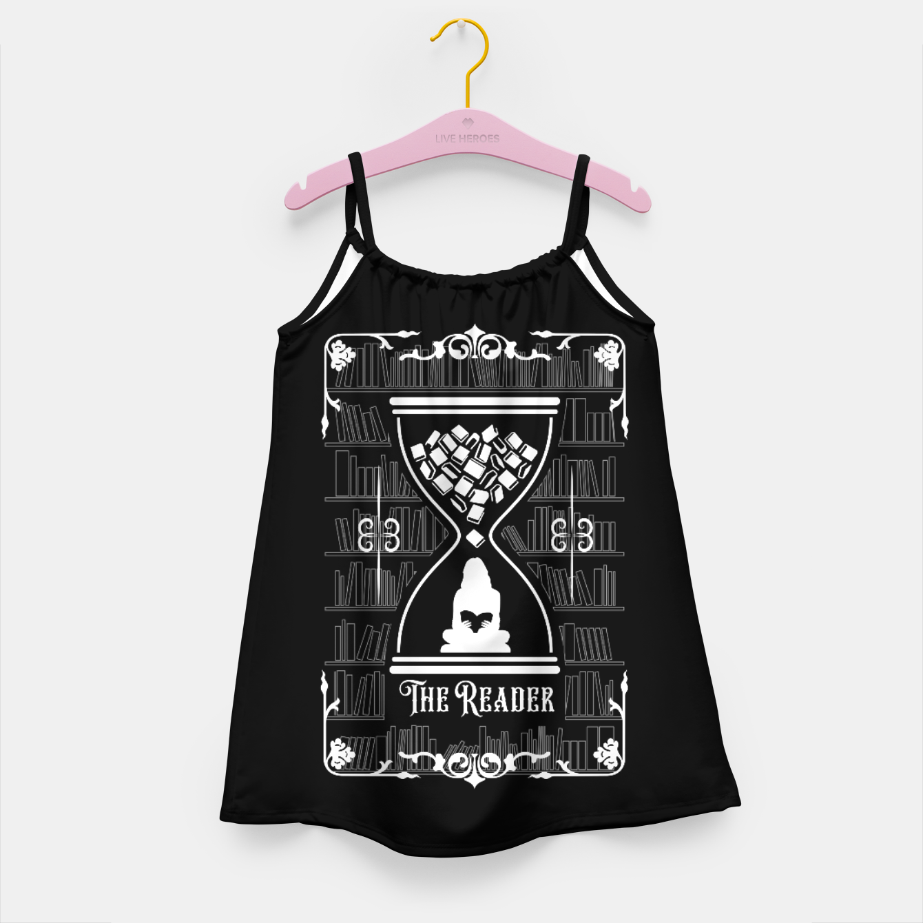Foto The Reader Tarot Card Girl's dress - Live Heroes