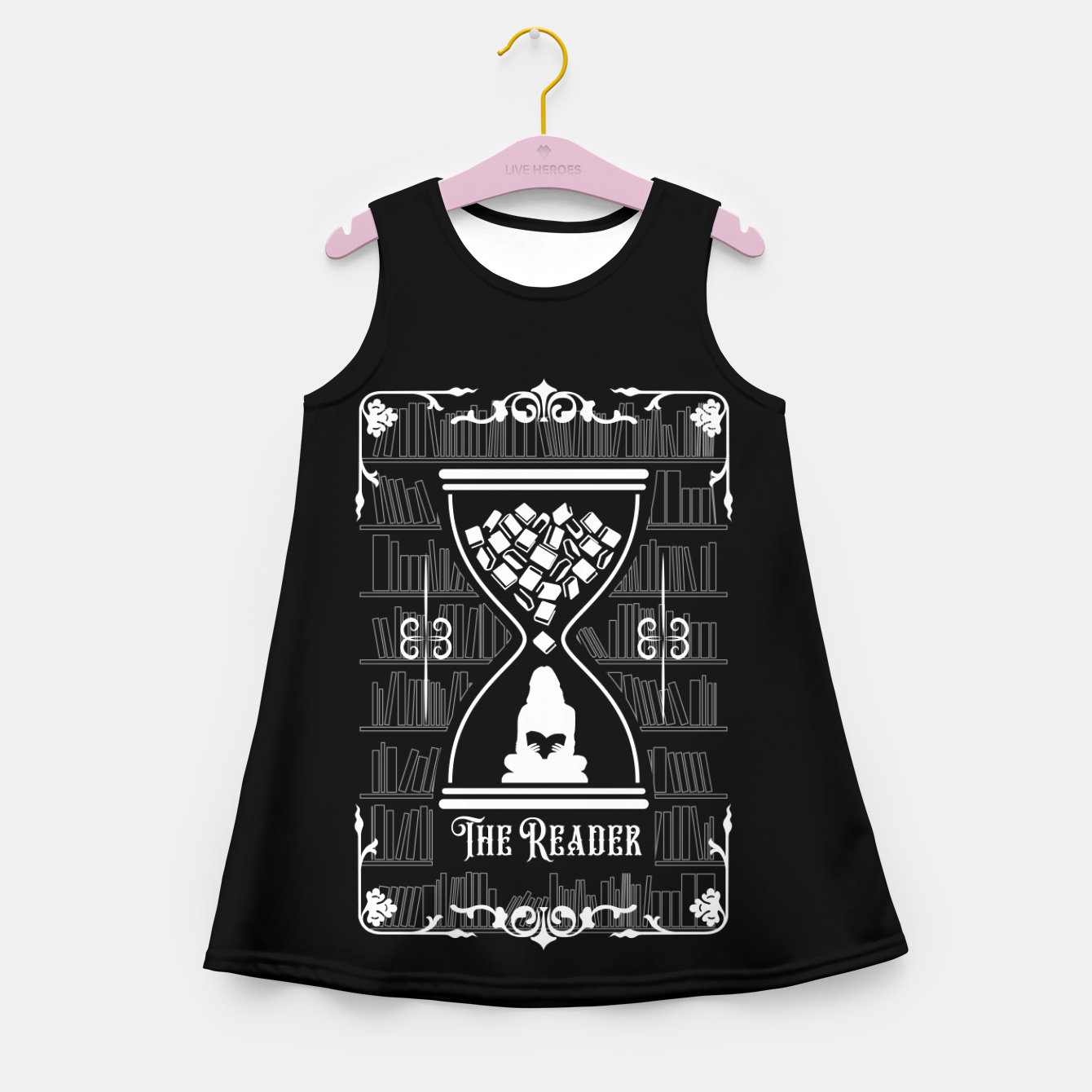 Foto The Reader Tarot Card Girl's summer dress - Live Heroes