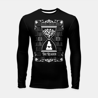 Thumbnail image of The Reader Tarot Card Longsleeve rashguard , Live Heroes