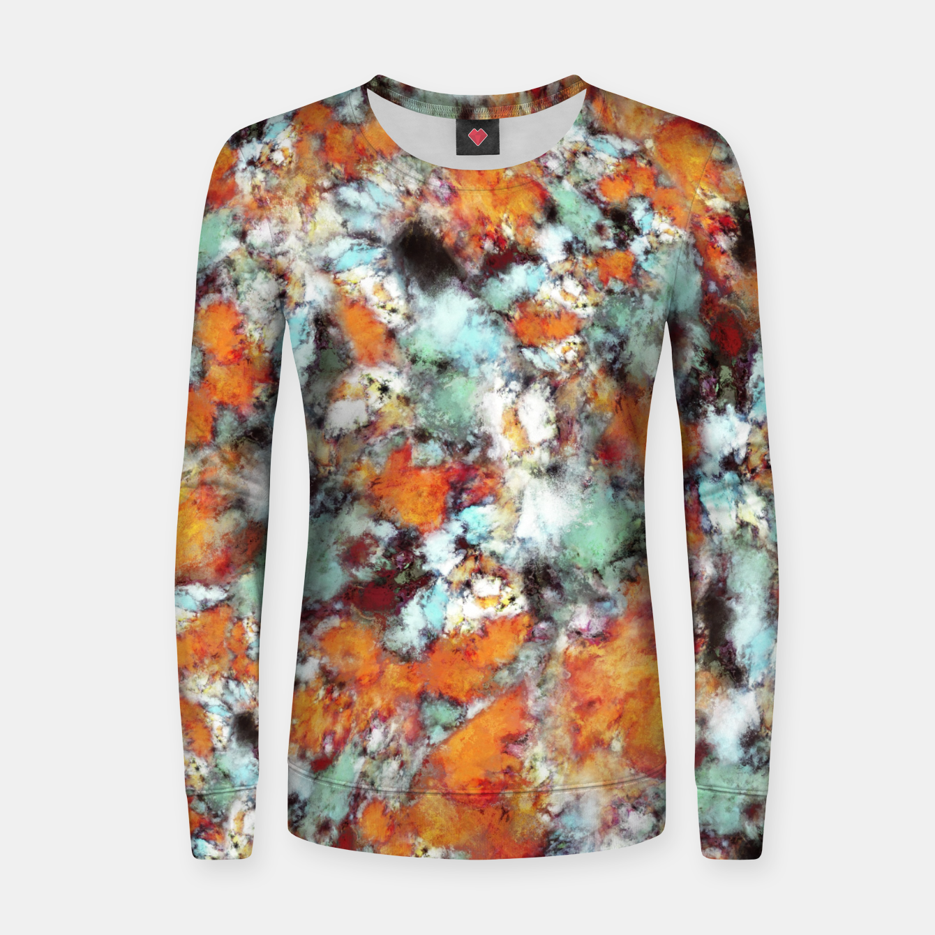 Image of Little falling embers Women sweater - Live Heroes