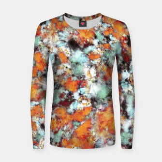 Thumbnail image of Little falling embers Women sweater, Live Heroes