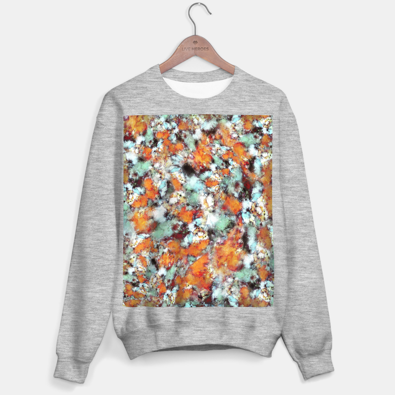 Image of Little falling embers Sweater regular - Live Heroes