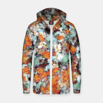 Little falling embers Zip up hoodie thumbnail image