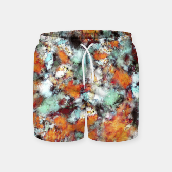 Thumbnail image of Little falling embers Swim Shorts, Live Heroes