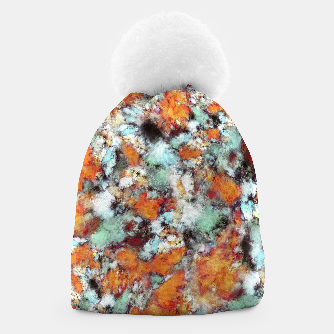 Image of Little falling embers Beanie - Live Heroes