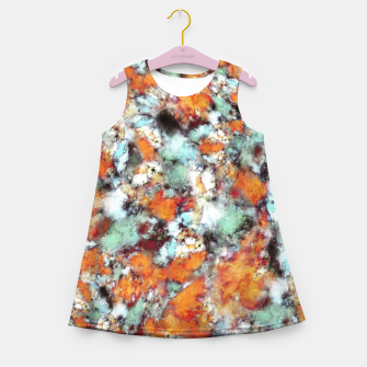 Thumbnail image of Little falling embers Girl's summer dress, Live Heroes