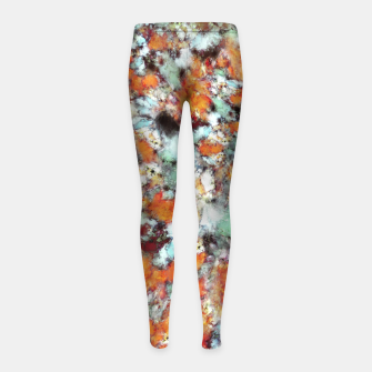 Little falling embers Girl's leggings thumbnail image