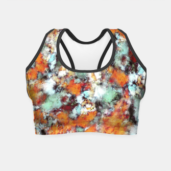Thumbnail image of Little falling embers Crop Top, Live Heroes
