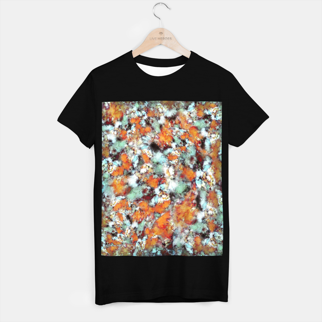 Image of Little falling embers T-shirt regular - Live Heroes
