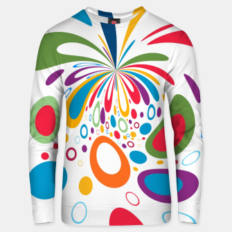Miniatur Color Splash Unisex sweater, Live Heroes