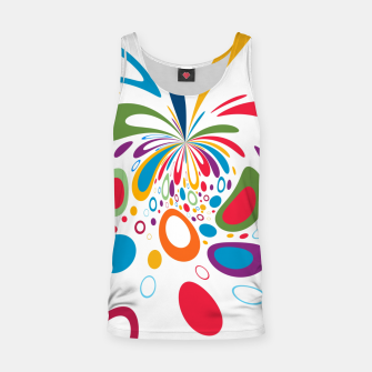 Miniature de image de Color Splash Tank Top, Live Heroes