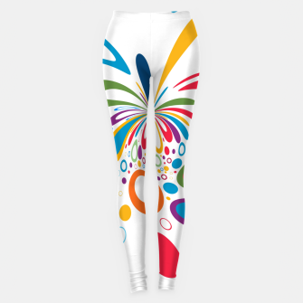 Miniature de image de Color Splash Leggings, Live Heroes