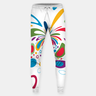 Miniatur Color Splash Sweatpants, Live Heroes