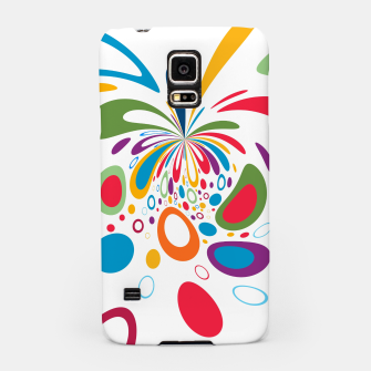 Miniatur Color Splash Samsung Case, Live Heroes