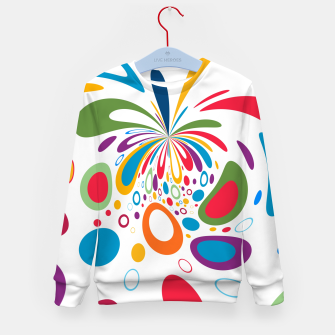 Miniature de image de Color Splash Kid's sweater, Live Heroes