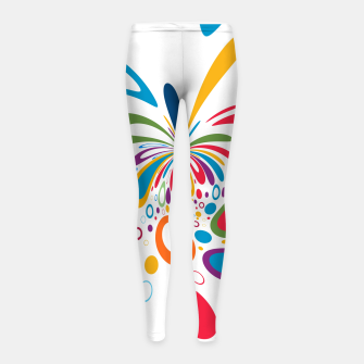 Miniature de image de Color Splash Girl's leggings, Live Heroes