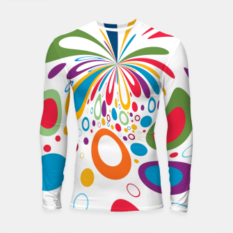 Thumbnail image of Color Splash Longsleeve rashguard , Live Heroes