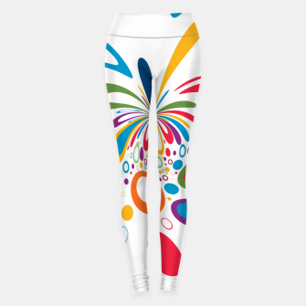 Miniatur Color Splash Leggings, Live Heroes