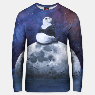 Thumbnail image of Space Panda Unisex sweater, Live Heroes