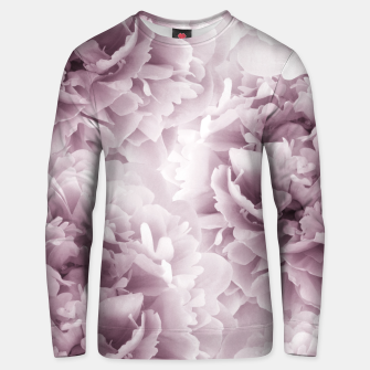 Mauve Peonies Dream #1 #floral #decor #art Unisex sweatshirt Bild der Miniatur