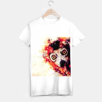 maki lemur ape ws ls T-shirt regular miniature