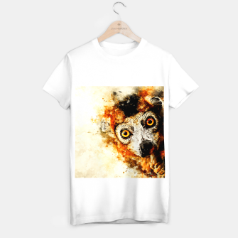 Thumbnail image of maki lemur ape ws std T-shirt regular, Live Heroes