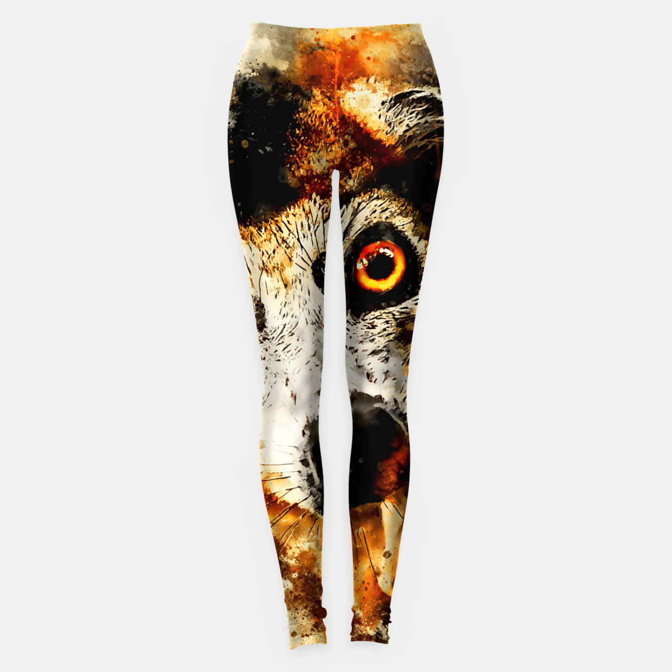 Image of maki lemur ape ws std Leggings - Live Heroes