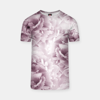 Mauve Peonies Dream #1 #floral #decor #art T-Shirt Bild der Miniatur