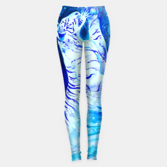 Thumbnail image of Space Tiger Leggings, Live Heroes