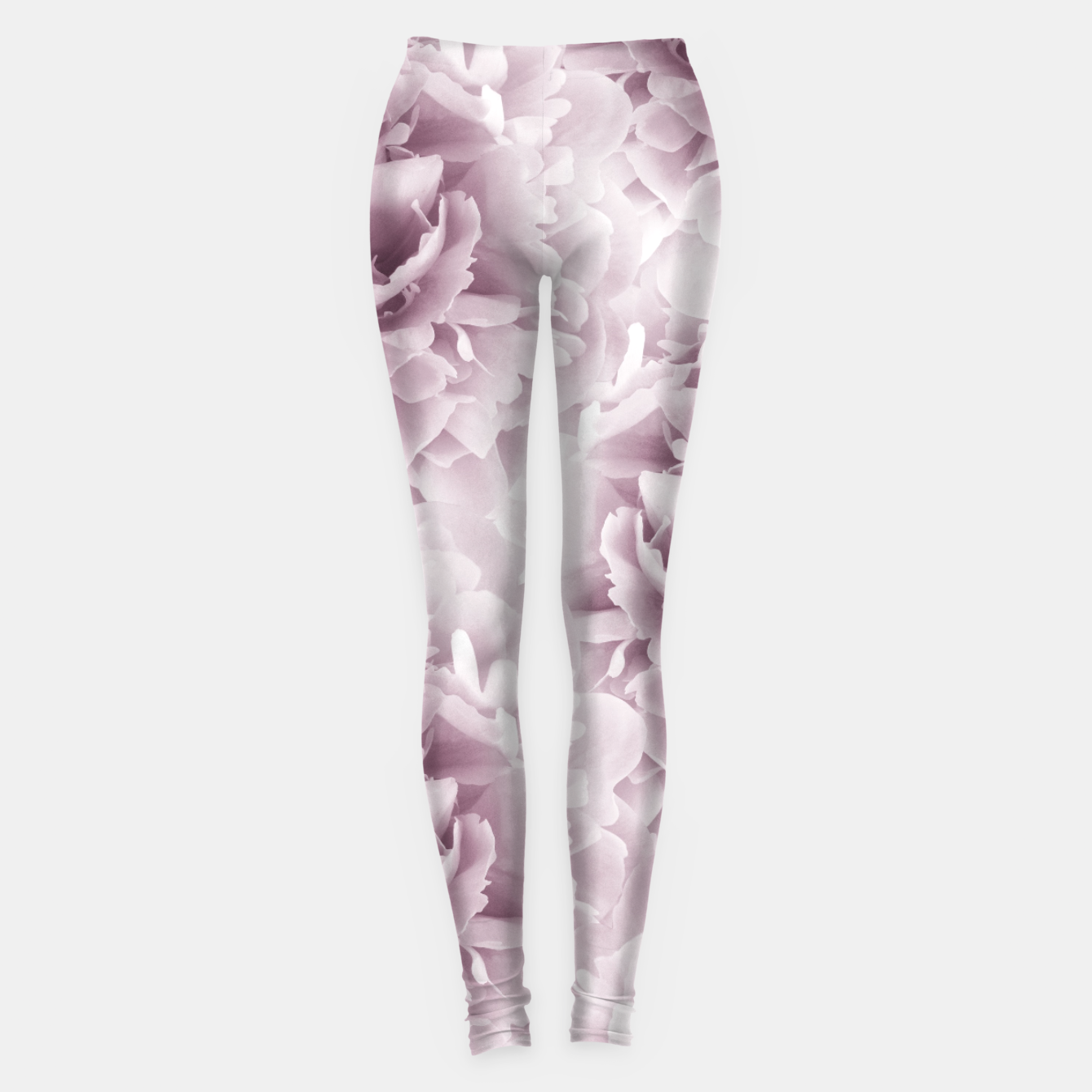 Zdjęcie Mauve Peonies Dream #1 #floral #decor #art Leggings - Live Heroes