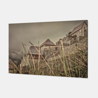 Thumbnail image of Houses of Machu Picchu Inca City Canvas, Live Heroes
