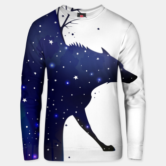 Thumbnail image of Galaxy Wolf Unisex sweater, Live Heroes
