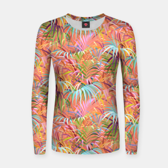 Miniaturka Tropical Mood of the Coral Season Women sweater, Live Heroes