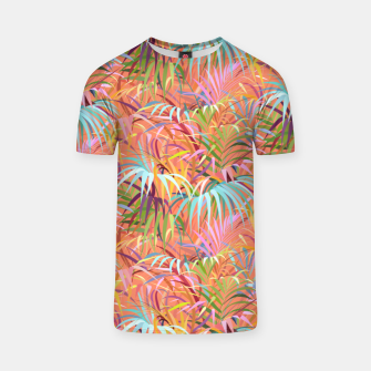 Miniaturka Tropical Mood of the Coral Season T-shirt, Live Heroes