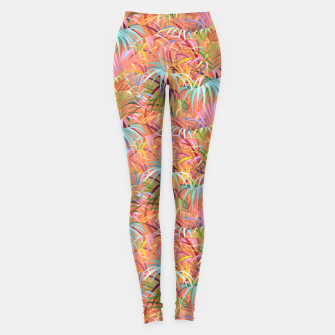 Miniaturka Tropical Mood of the Coral Season Leggings, Live Heroes